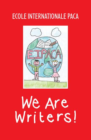 We are writers, le livre de la section anglaise